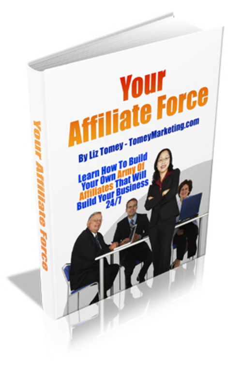 Pay for New! Your Affiliate Force