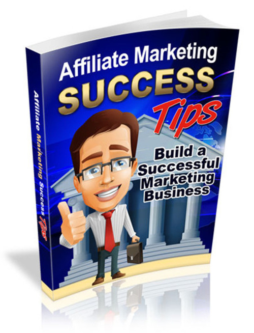 Pay for Affiliate Marketing Success Tips / Master Resell Rights MRR