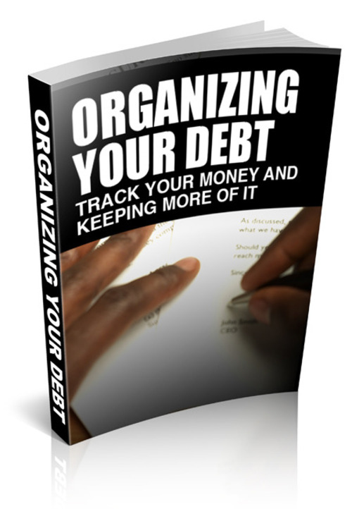 Pay for Organizing Your Debt W/ Private Label Rights PLR