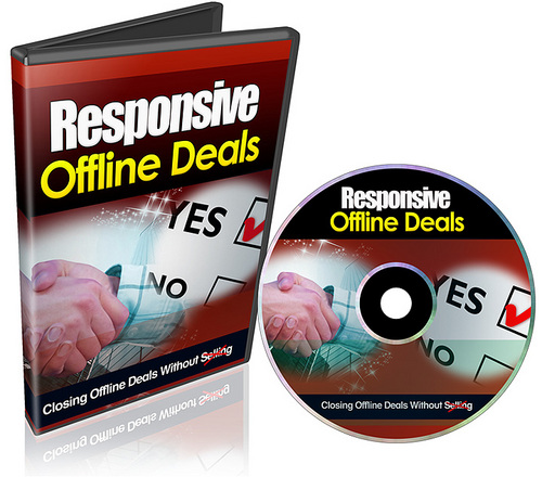 Pay for Responsive Offline Deals (with Resell Rights)