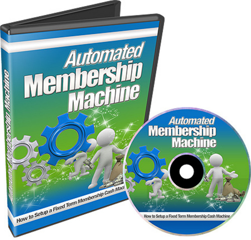 Pay for Automated Membership Machine (with Resell Rights)