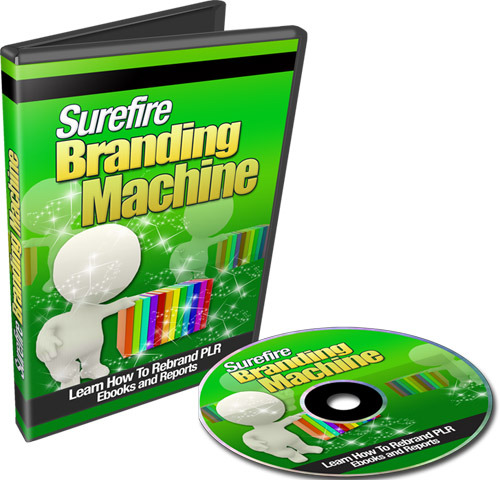 Pay for Surefire Branding Machine (with Resell Rights)