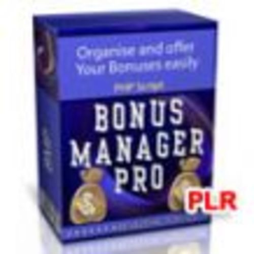 Pay for Bonus Manager Pro Script