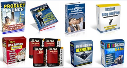 Pay for 50 Hot Resale Right Products Pack