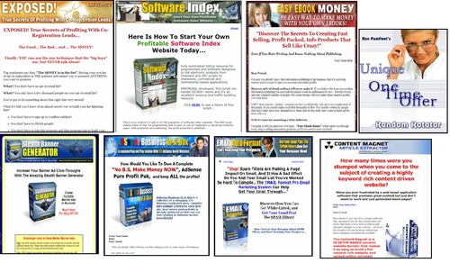 Pay for 50 Hot Resale Right Products Pack with One Time Offer Page