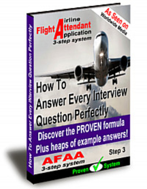 Pay for The proven 3-step system To Your Flight Attendant Jobs