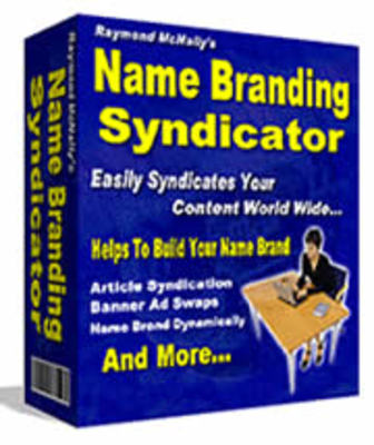 Pay for Name Branding Software -Syndicate Your Ezines,Sales Letter