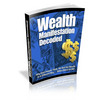 Thumbnail Wealth Manifestation Decoded with Private Label Rights