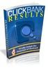 Thumbnail ClickBank Results + Bonus Video With Master Resell Rights