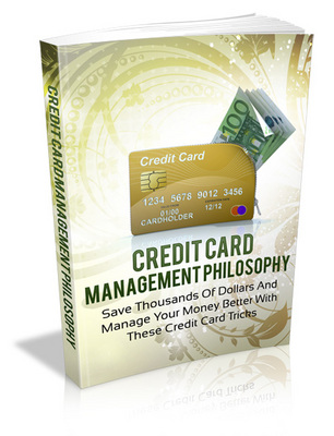 Pay for Credit Card Management with Master Resell Rights