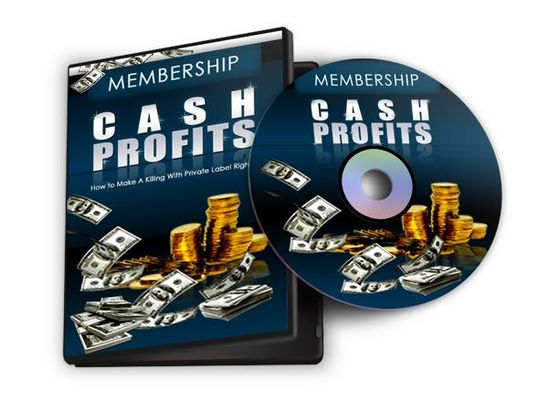 Pay for Membership Cash Profits (8 Videos) with Master Resell Rights