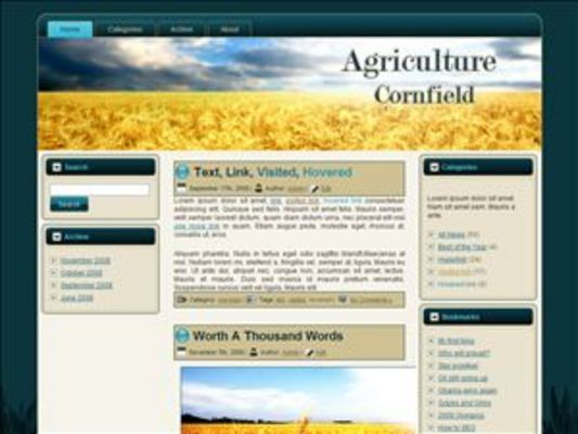 Pay for Cornfield WP Theme with Master Resell Rights