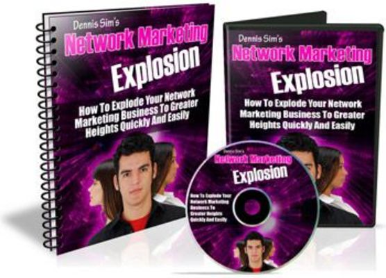 Pay for Network Marketing Explosion With Master Resell Rights
