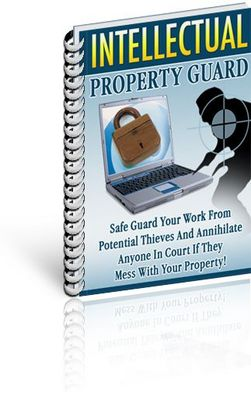 Pay for Intellectual Property Guide With Master Resell Rights