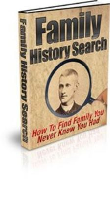 Pay for Family History Search With Master Resell Rights