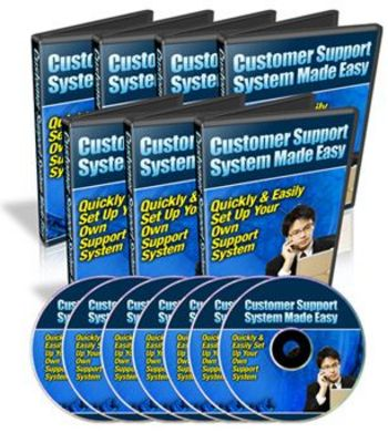 Pay for Customer Support System Made Easy Videos With Master Resell