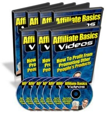 Pay for Affiliate Basics Videos With Master Resell Rights