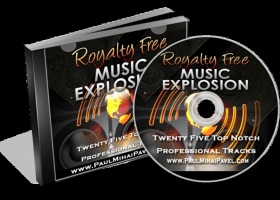 Pay for Royalty Free Music Explosion with Master Resell Rights