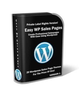 Pay for Easy Wordpress Sales Pack with Private Label Rights