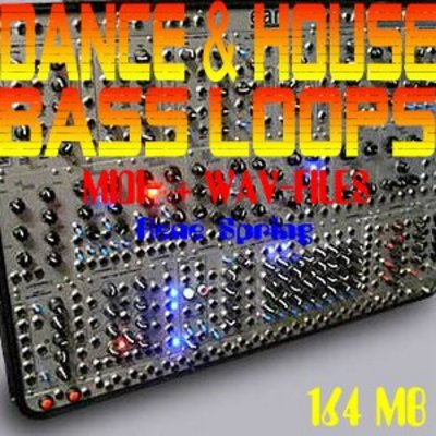 Pay for DANCE & HOUSE BASS-LOOPS, Midi- Wav-Files