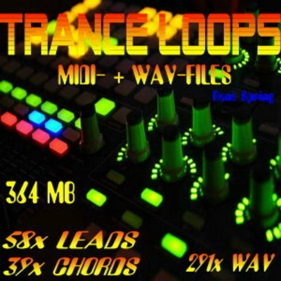 Pay for TRANCE-LOOPS, Midi- Wav-Files