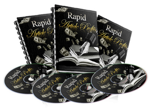 Pay for Rapid Article Profits comes with Resale Rights
