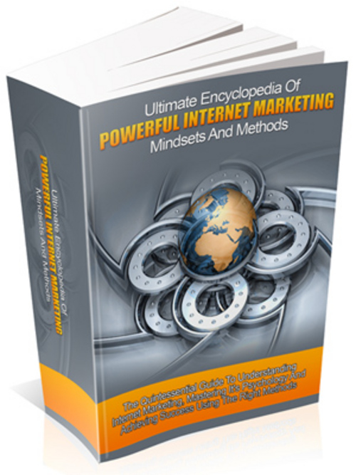 Pay for Powerful Internet Marketing Mindset with Private Label Right