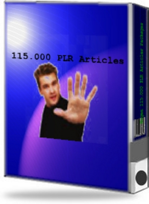 Pay for 115,000 PLR Articles Package