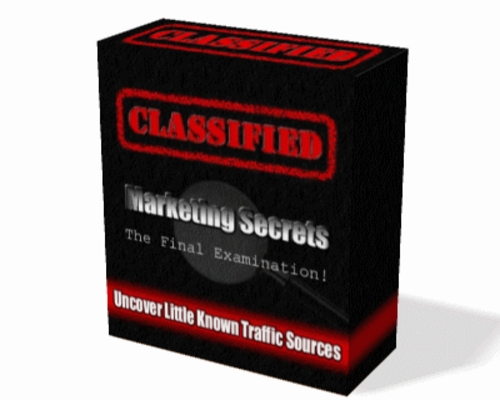 Pay for Classified Marketing Secrets - Course Module Video