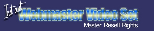 Pay for New WebMaster Video
