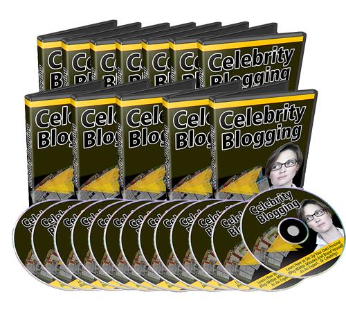 Pay for MRR Celebrity Blogging Package
