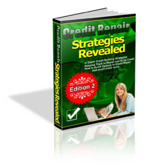 Pay for Credit Repair Strategies Revealed Ebook w/MRR