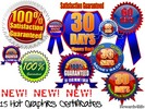 Thumbnail NEW! 15 Hot Graphics Certificates