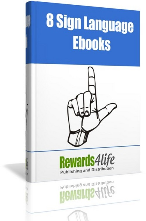 Pay for 8 Sign Language Ebooks