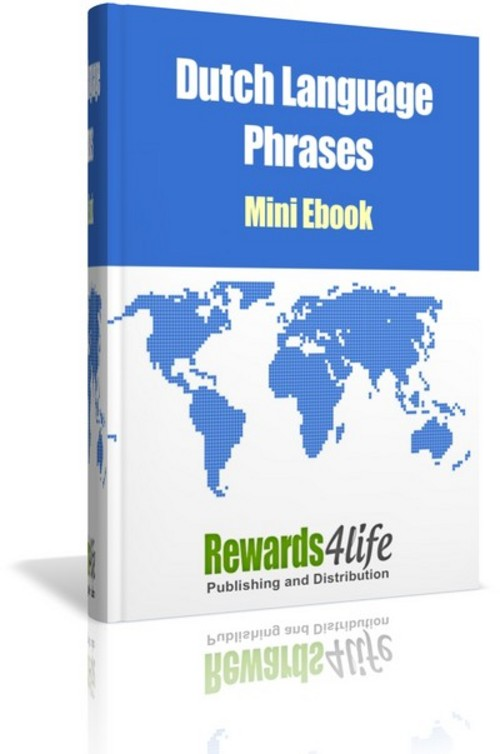 Pay for Dutch Language Phrases Mini E-book
