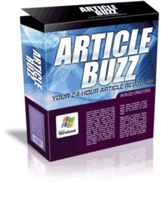 Pay for Article Buzz - Discover How This Article Rewriter Will Help You Create Killer Articles In No Time