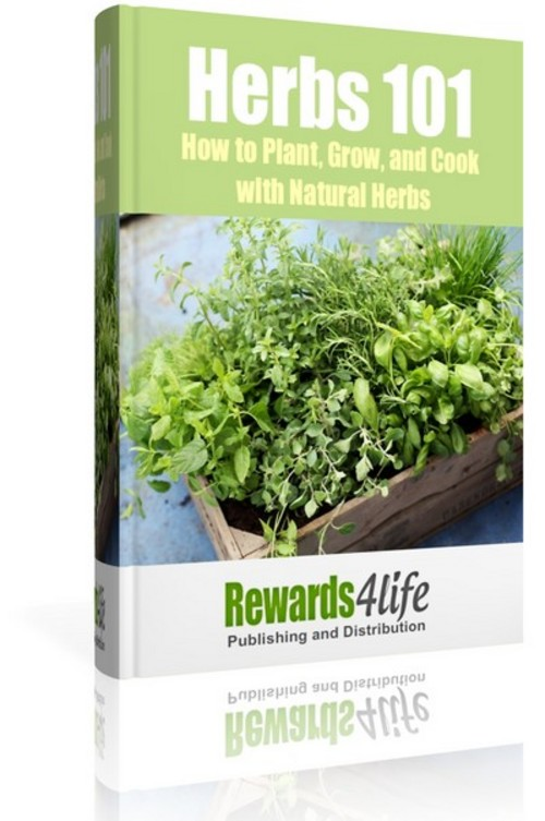 Pay for Herbs 101- How to Plant, Grow, and Cook with Natural Herbs