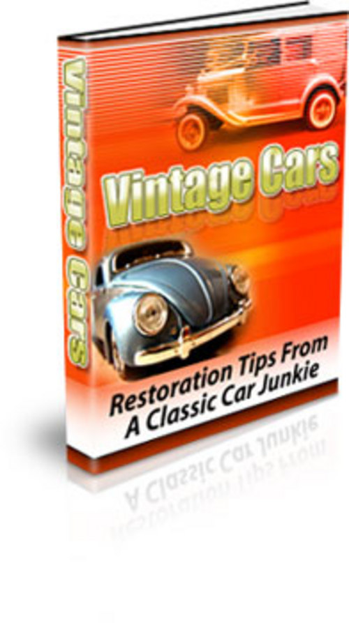 Pay for Vintage Cars  Restoration Tips From A Classic Car Junkie