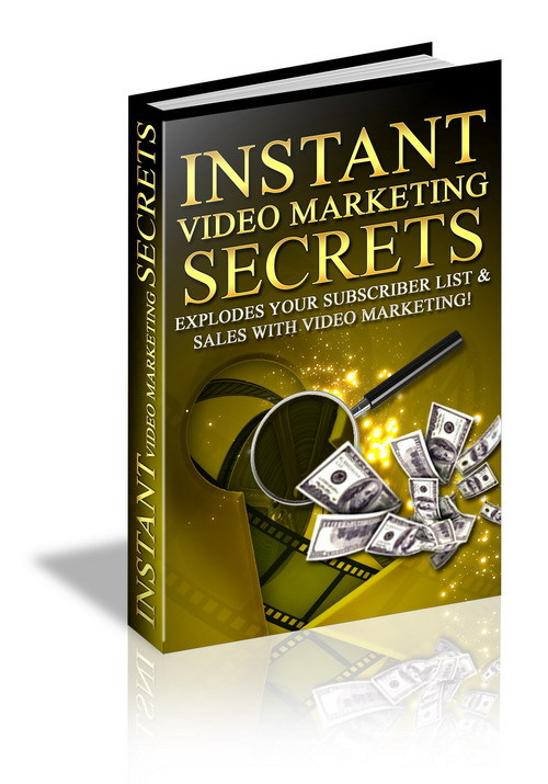 Pay for Instant Video Marketing secrets,increase sales make money