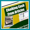 Thumbnail Chalking Cash From Articles - boost profits & sales