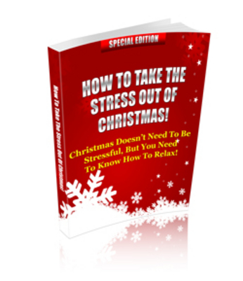 Pay for How To Take The Stress Out Of Christmas