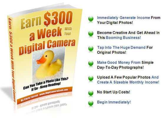 Pay for Earn from your digital camera