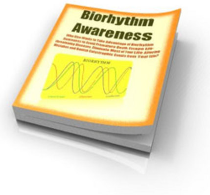 Pay for Biorhythm Awareness  avoid premature death from diseases