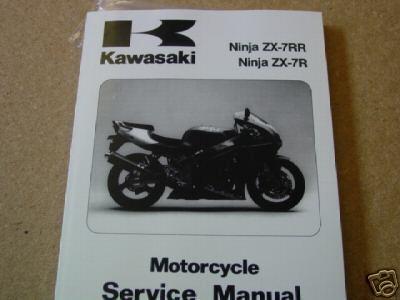 & 96 06 ZX7R RR Service Manual - Download Manuals \u0026 Technical