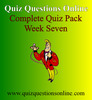 Thumbnail Quiz Questions Online Week Seven Quiz