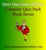 Thumbnail Quiz Questions Online Week Seven Quiz