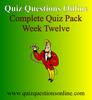Thumbnail Quiz Questions Online Week Twelve Quiz