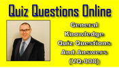 Thumbnail VQ-008 - General knowledge Quiz And Trivia
