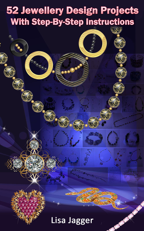 Pay for 52 Jewellery Design Projects - Bonus 8 Video Tutorials Links