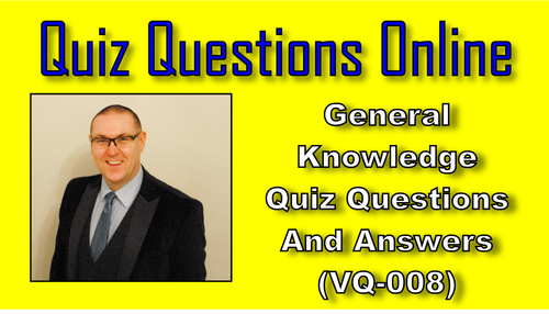 VQ-008 - General knowledge Quiz And Trivia - Tradebit